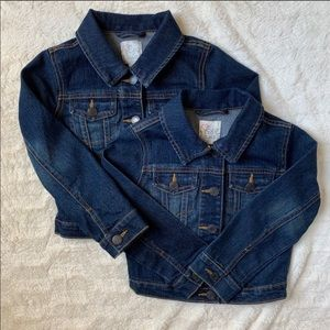 Size 5/6 toddler denim jacket